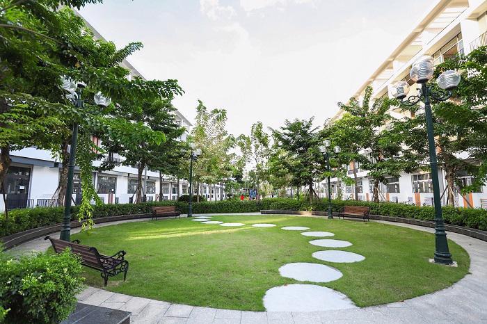 Góc thư giãn và nạp năng lượng lý tưởng cho cư dân Bình Minh Garden.