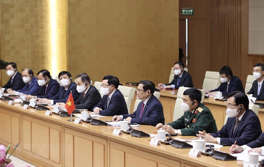 Chủ tịch Quốc hội, Thủ tướng Chính phủ hội kiến Tổng Bí thư, Chủ tịch nước Lào - Ảnh 3