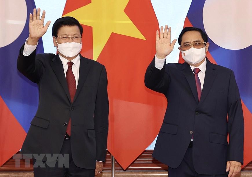 Đây là chuyến thăm nước ngoài đầu tiên của đồng chí Thongloun Sisoulith trên cương vị Tổng Bí thư, Chủ tịch nước Lào nhiệm kỳ 2021-2026, góp phần khẳng định đường lối đối ngoại nhất quán của cả hai nước, đặc biệt coi trọng giữ gìn và không ngừng phát triển quan hệ hữu nghị vĩ đại, tình đoàn kết đặc biệt và sự hợp tác toàn diện Việt Nam-Lào, Lào-Việt Nam.
