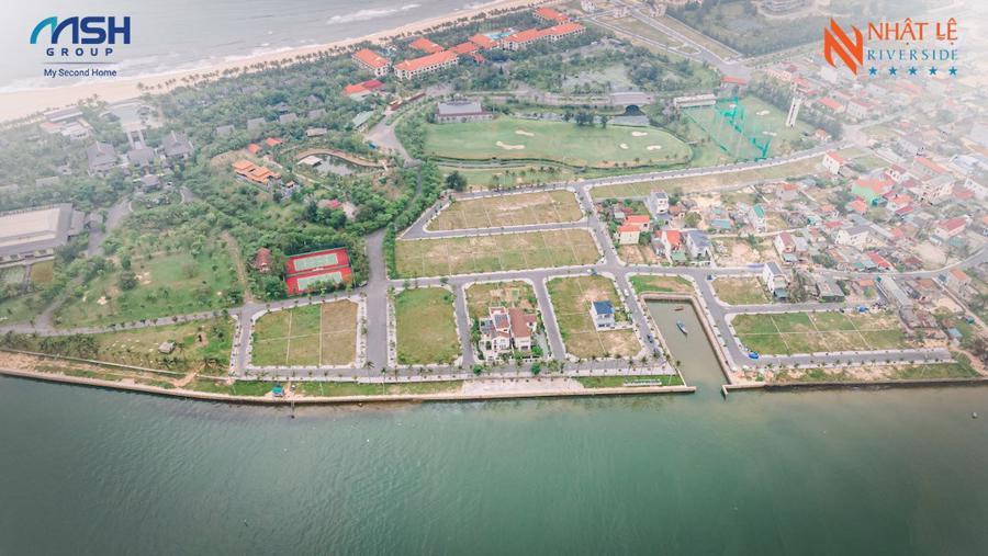 Nhật Lệ Riverside có điều kiện thuận lợi để phát triển bất động sản kèm bến du thuyền.
