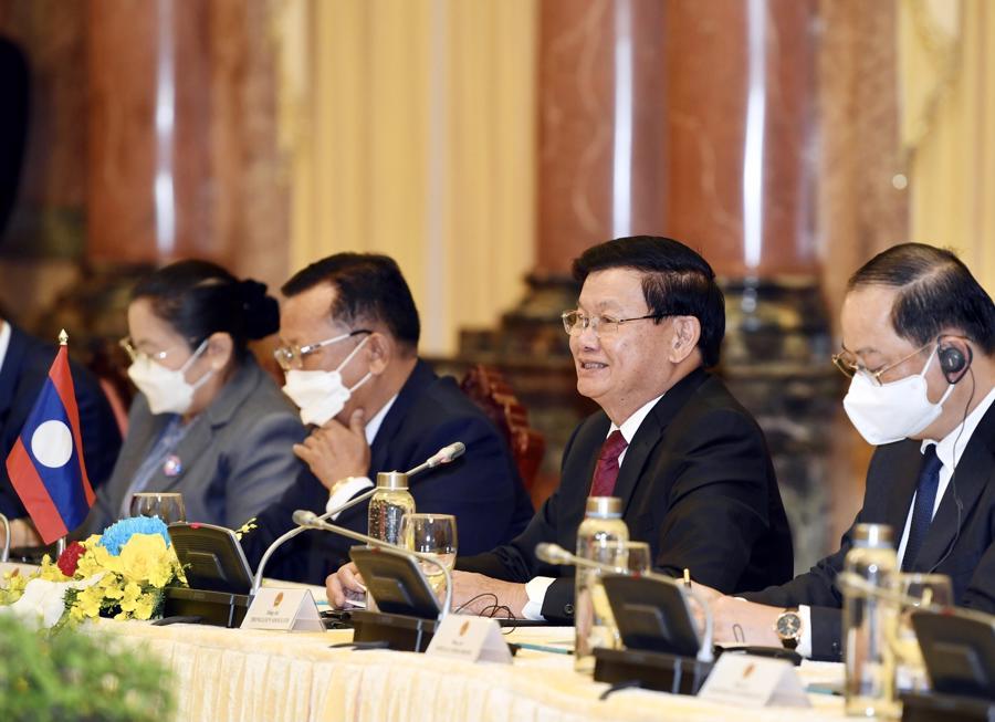 """Việt Nam - Lào tiếp tục phát huy truyền thống """"hạt gạo cắn đôi, cọng rau bẻ nửa"""" - Ảnh 2"""