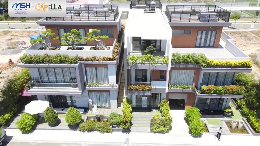 Nhà mẫu biệt thự, liền kề dự án The Capella Garden. Ảnh: MSH Group.