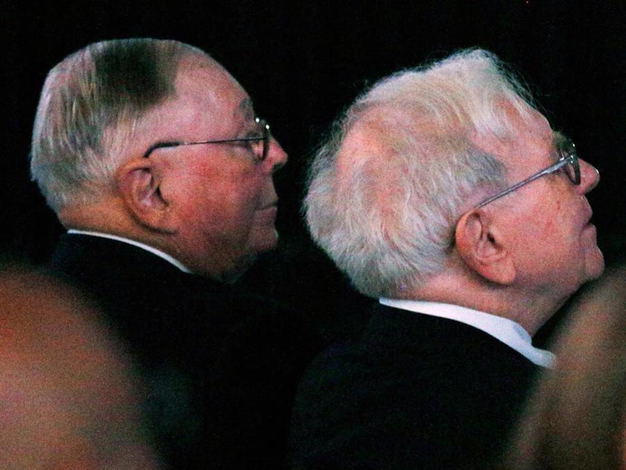 Dù đã ngoài 90 tuổi, cả hai đều chưa có kế hoạch nghỉ hưu trong tương lai gần - Ảnh: Getty Images