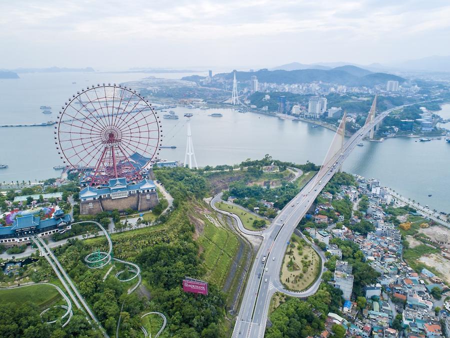 Những năm gần đây, Quảng Ninh là nơi thu hút các nhà đầu tư lớn.