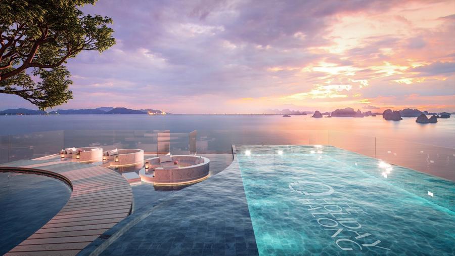 Thiên đường nghỉ dưỡng tại The Holiday Ha Long.