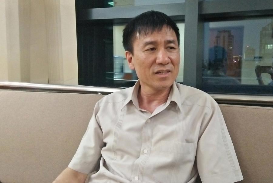 Ông Lê Đình Quảng, Phó trưởng Ban Quan hệ lao động, Tổng Liên đoàn Lao động Việt Nam. Ảnh - N.Dương.