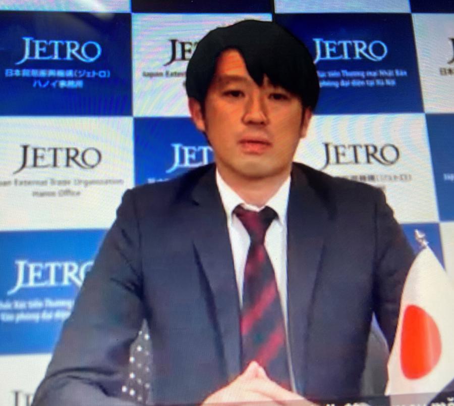 Ông Keisuke Kobayashi, Phó trưởng đại diện Tổ chức thúc đẩy ngoại thương Nhật Bản (Jetro), Văn phòng đại diện tại Hà Nội