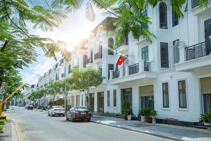 Tiêu chuẩn sống 5 sao khẳng định đẳng cấp khu đô thị Thái Hưng Crown Villas.