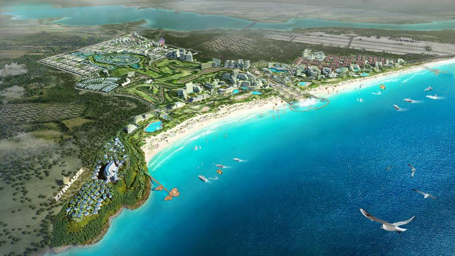 Các khu nghỉ dưỡng phức hợp hoàn hảo đưa du lịch Cam Ranh phát triển bền vững.