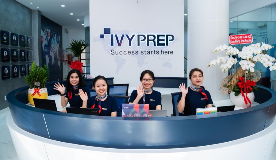 Học viện Anh ngữ EQuest và̀ Anh ngữ Việt Mỹ VATC (đều thuộc sở hữu của EQuest Group) đã sáp nhập và̀ trở thành thương hiệu chung IvyPrep Education. Ảnh chụp trước ngày 27/4 bởiIvyPrep Education.
