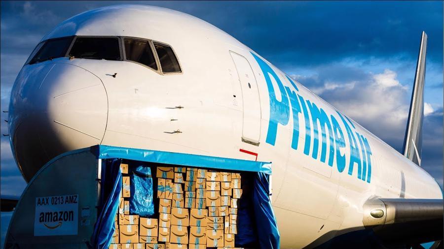 Máy bay giao hàng của Amazon - Ảnh: Amazon