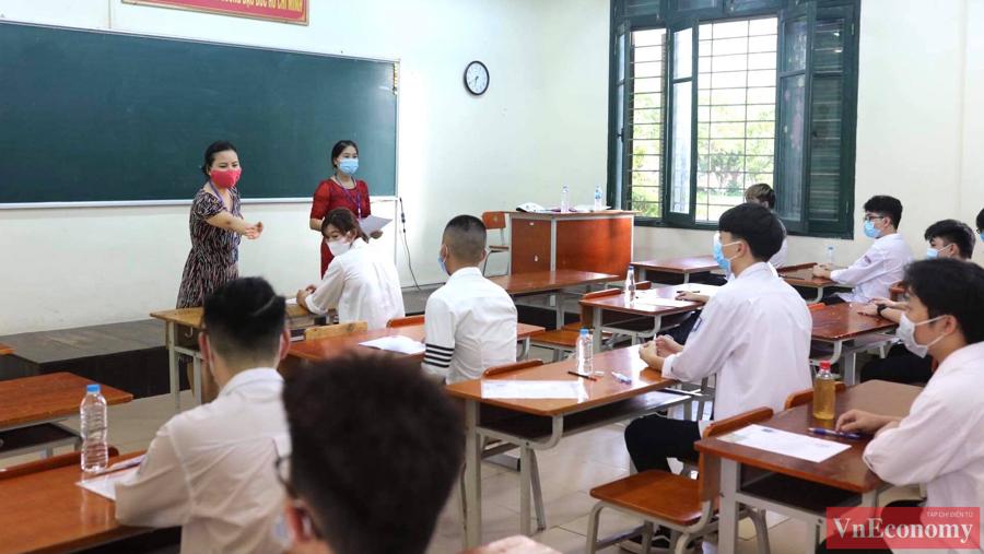 Sáng nay, các sỹ tử khởi động Kỳ thi tốt nghiệp THPT 2021 - Ảnh 8
