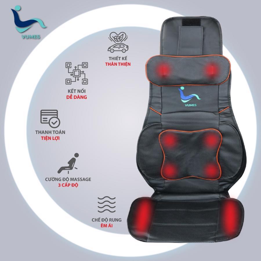 Thảm massage thông minh Vumes giúp tài xế có thêm thu nhập và khách hàng thư giãn.