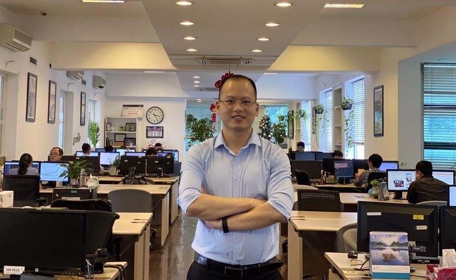 Ông Đoàn Tú chuyên gia tư vấn chứng khoán, CEO của Finck.vn