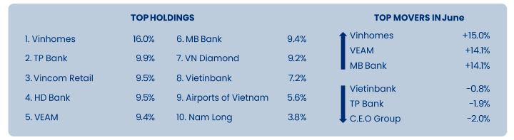 PYN Elite Fund xả cổ phiếu ngân hàng, hiệu suất bất ngờ lao dốc tháng 6 - Ảnh 1