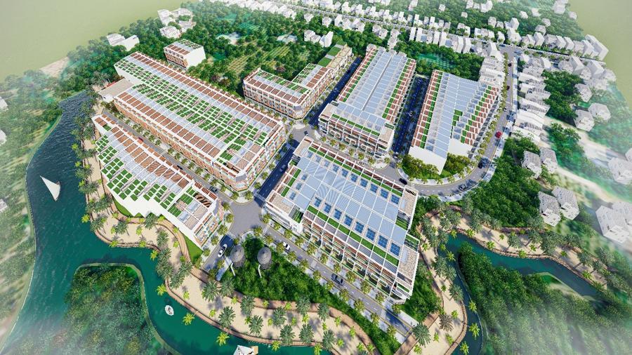 Phối cảnh dự án An Phước Riverside Phan Thiết.