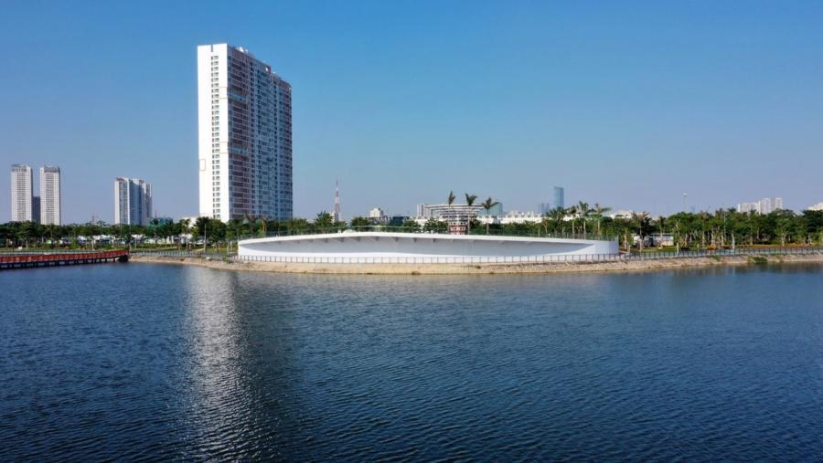 Dự án Anland Lakeview soi bóng bên hồ Bách Hợp Thủy.