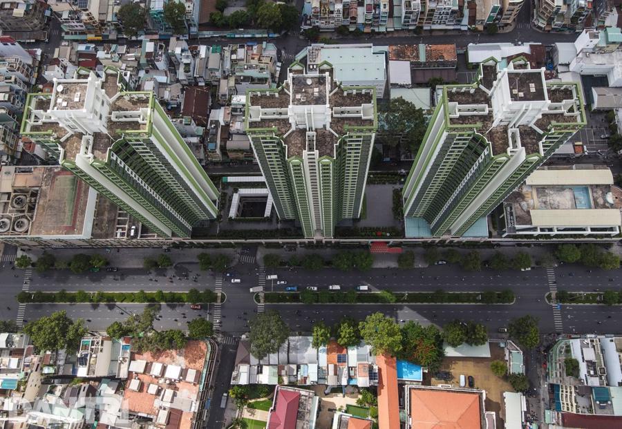 TP.HCM đang cải tạo một phần cao ốc Thuận Kiều Plaza thành Bệnh viện dã chiến số 5.