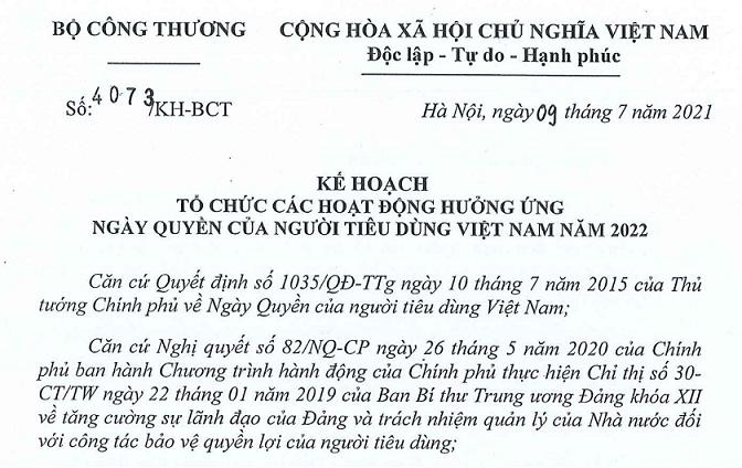 Ngày Quyền của người tiêu dùng Việt Nam: Tiêu dùng an toàn trong thời kỳ bình thường mới - Ảnh 1