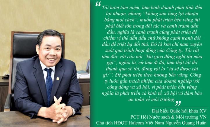 """Halcom Việt Nam - 20 năm với tầm nhìn phát triển hạ tầng """"xanh"""" - Ảnh 1"""