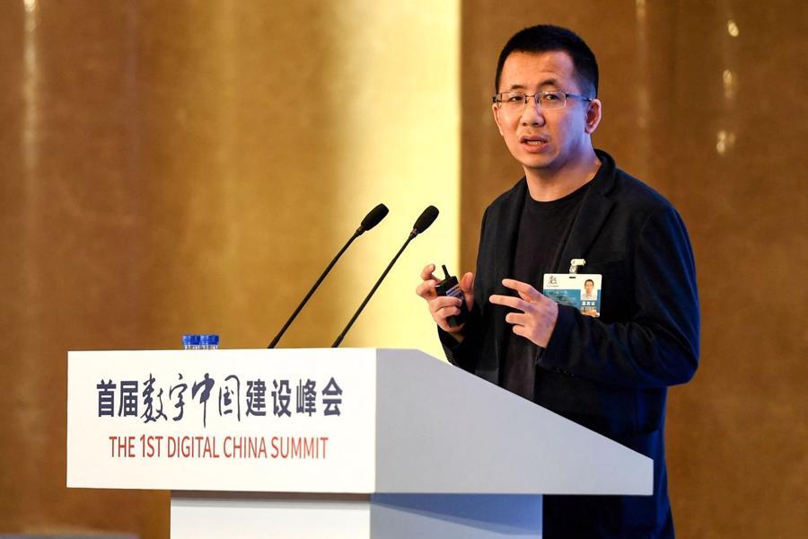 Người sáng lập ByteDance Zhang Yiming cho rằng hiện không phải thời điểm thíchhợp để IPO - Ảnh: Getty Images