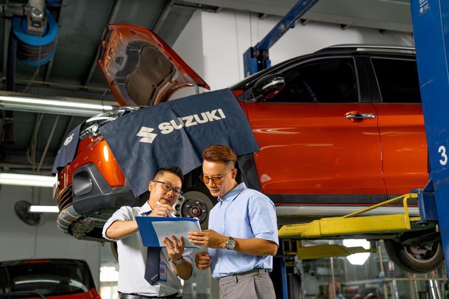 Suzuki liên tục mở rộng hệ thống phân phối và hiện đã có 38 đại lý trên toàn quốc.