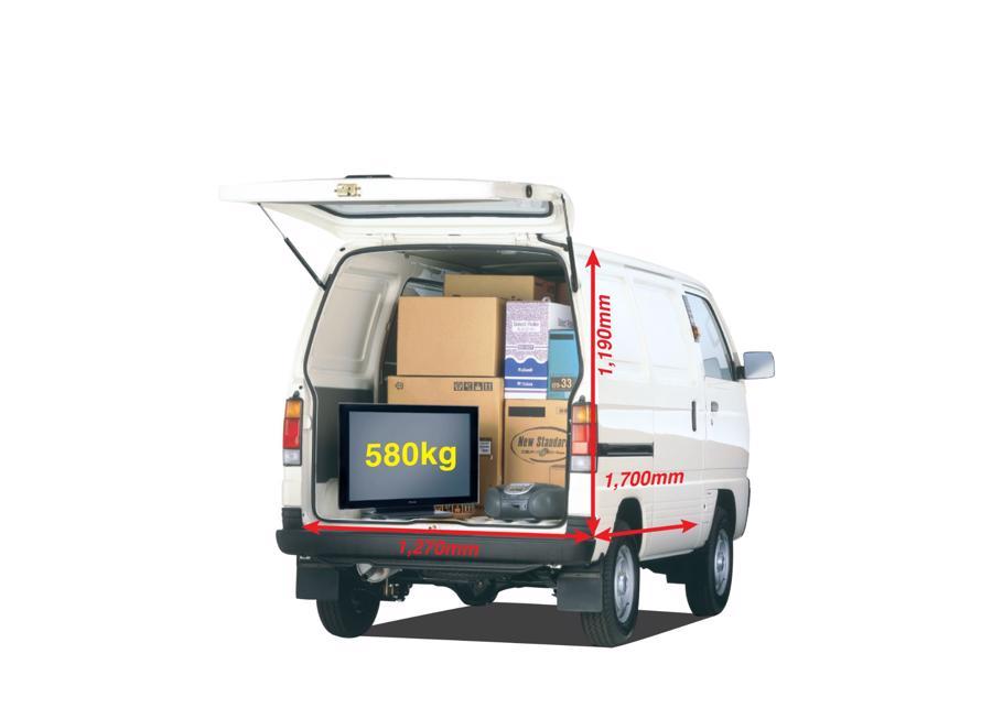 Suzuki Blind Van đang là mẫu xe tải van được ưa chuộng nhất tại Việt Nam.