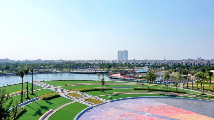 Công viên Thiên văn học rộng 12ha tọa lạc tại trung tâm Khu đô thị Dương Nội.