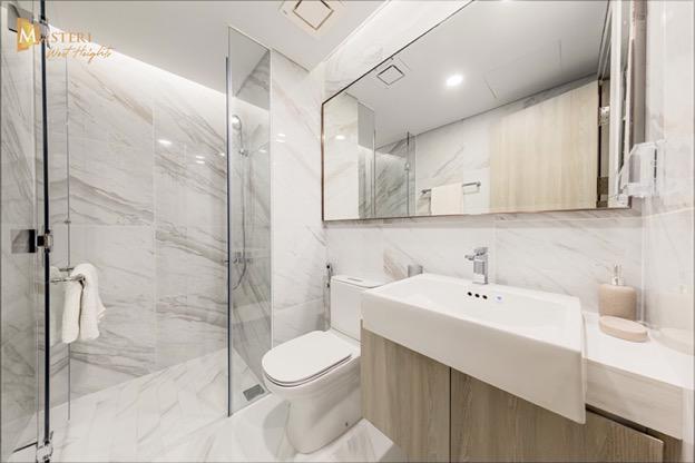 Không gian nội thất Masteri West Heights được chăm chút kỹ lưỡng tới từng chi tiết cùng màu sắc đương đại và chất lượng hoàn thiện vượt trội, kiến tạo nên tổ ấm hoàn hảo cho mọi gia đình.
