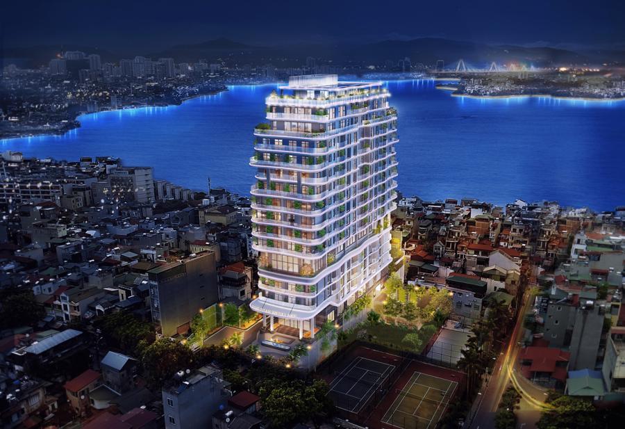 """Dự án Five Star West Lake được vinh danh ở hạng mục Chung cư độc lập thuộc Hệ thống giải thưởng """"Dự án đáng sống 2021""""."""