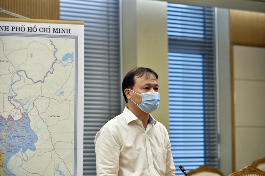 Thứ trưởng Bộ Công Thương Đỗ Thắng Hải tại cuộc họp - Ảnh: VGP