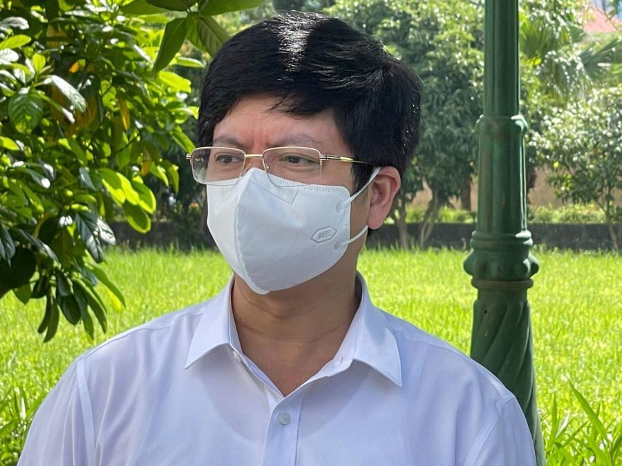 Ông Nguyễn Trọng Khoa, Phó Cục trưởng Cục Quản lý khám, chữa bệnh (Bộ Y tế)