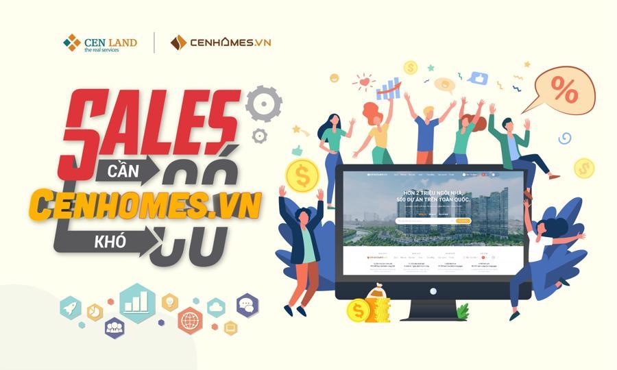 Cenhomes.vn phiên bản 3.0 mới ra mắt với nhiều tính năng mới: quản lý data, chạy ads thu lead,… giúp môi giới giảm thiểu tối đa chi phí bán hàng trong mùa dịch.