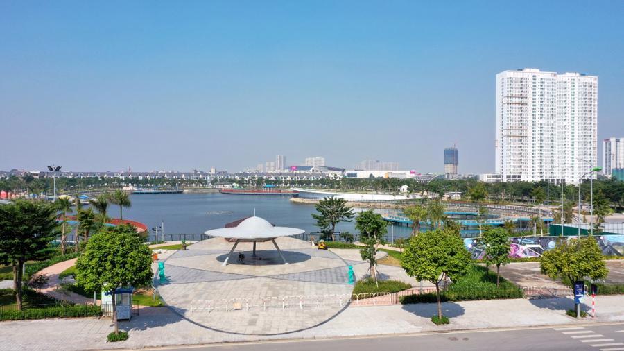 Anland Lakeview hưởng trọn tiện ích của Công viên Thiên Văn học đầu tiên tại Việt Nam.