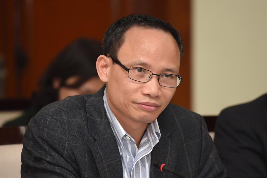 Ông Cấn Văn Lực, Chuyên gia Kinh tế trưởng BIDV, Giám đốc Viện Đào tạo và Nghiên cứu BIDV.