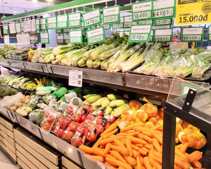 Hiện nay, nguồn cung nông sản, thực phẩm của Hà Nội tương đối dồi dào.