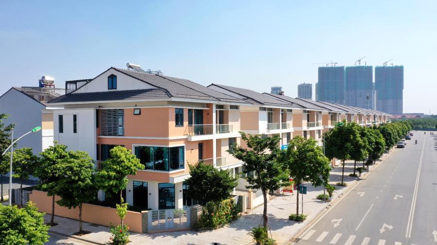 Thiết kế tối ưu tạo ra không gian kết hợp hài hòa giữa nhu cầu ở và kinh doanh tại An Phú Shop-villa.