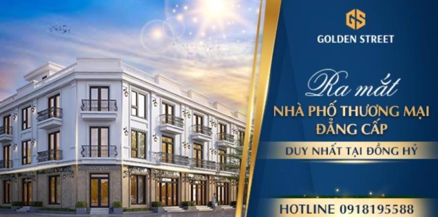 Chính thức ra mắt dự án shophouse Golden Street - Gò Cao Đồng Hỷ Thái Nguyên - Ảnh 1