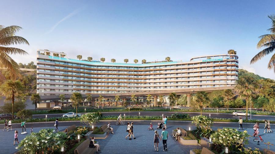 Phối cảnh ANCruising - Tòa căn hộ khách sạn mặt biển sở hữu lâu dài duy nhất tại Nha Trang.