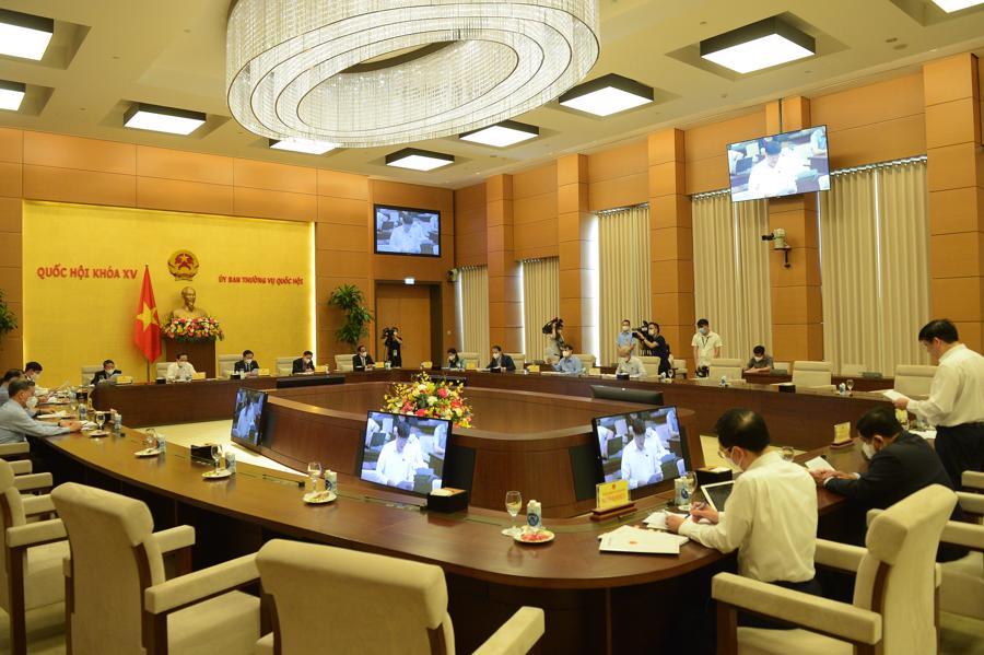 Toàn cảnh cuộc họp - Ảnh: Quochoi.vn