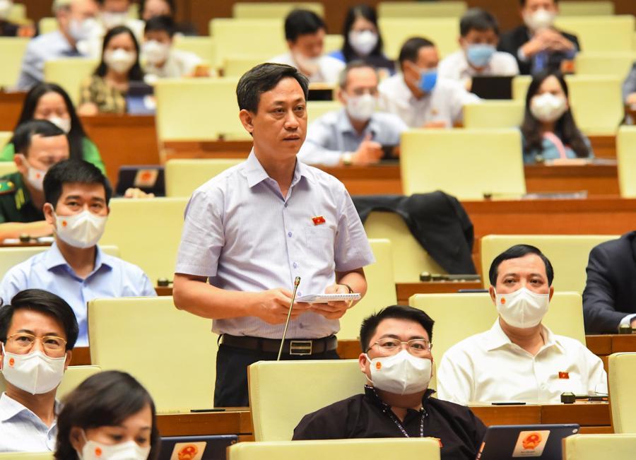 Đại biểu Mai Văn Hải, Đoàn Đại biểu Quốc hội tỉnh Thanh Hóa. Ảnh - Quochoi.vn.