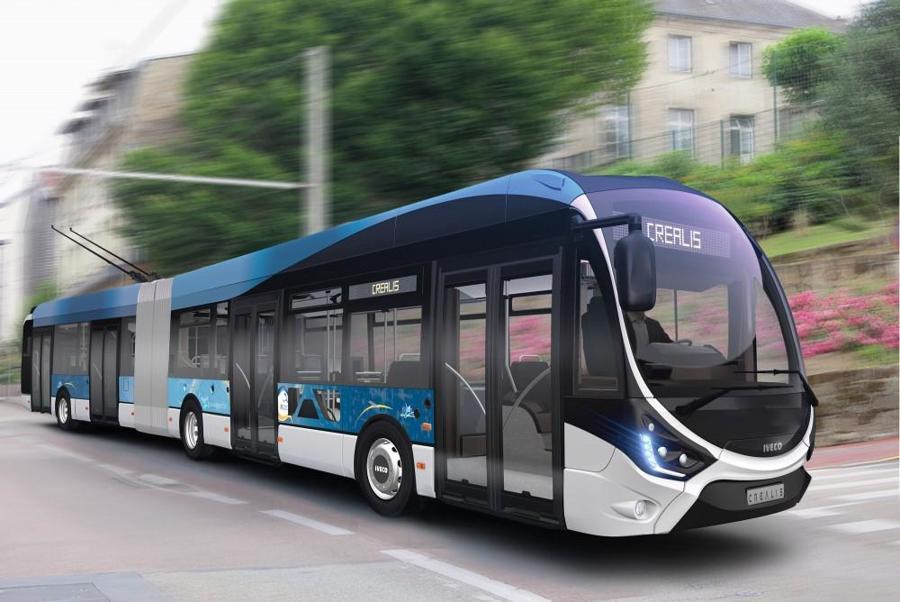 Tàu điện bánh hơi - loại phương tiện hiện đại, thân thiện với môi trường sẽ được áp dụng tại Sunshine Heritage Hà Nội.