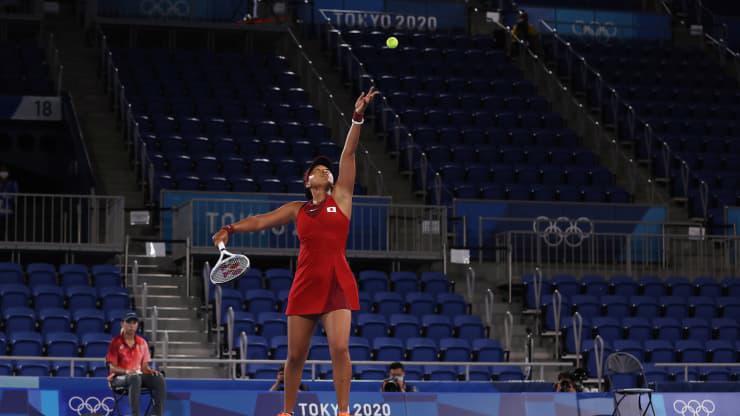 Vận động viên quần vợt Nhật Bản Naomi Osaka - Ảnh: Getty/CNBC.