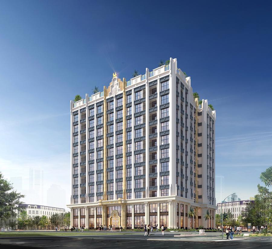 Khu căn hộ trong khuôn viên dự án sẽ mang đến nguồn khách hàng cố định, tiềm năng.
