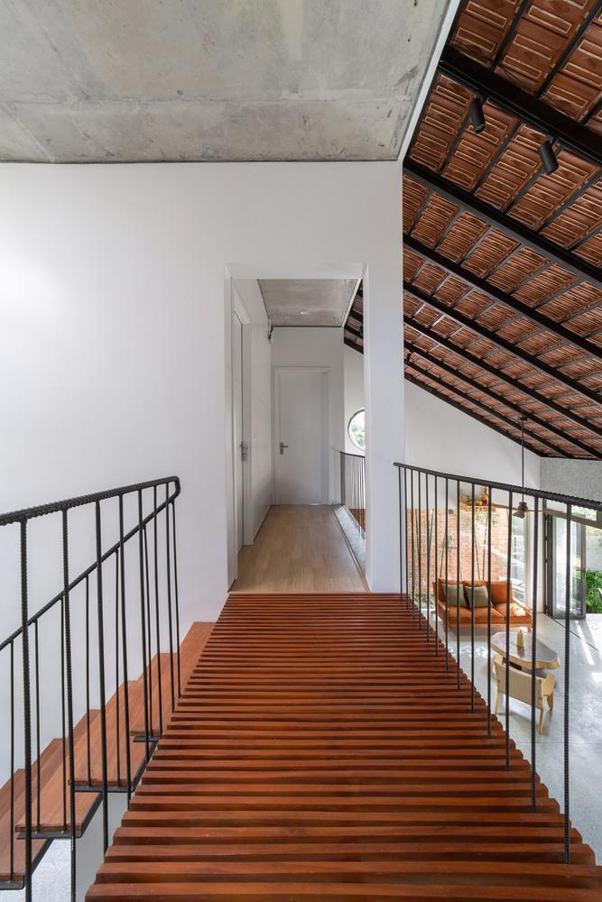 Ngôi nhà gạch Việt Nam được giới thiệu trên trang web kiến trúc hàng đầu thế giới - Ảnh 14