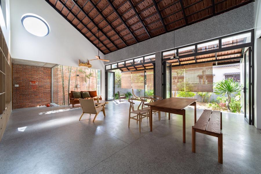 Ngôi nhà gạch Việt Nam được giới thiệu trên trang web kiến trúc hàng đầu thế giới - Ảnh 4