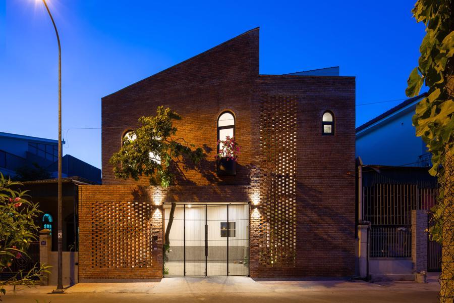 Ngôi nhà gạch Việt Nam được giới thiệu trên trang web kiến trúc hàng đầu thế giới - Ảnh 8