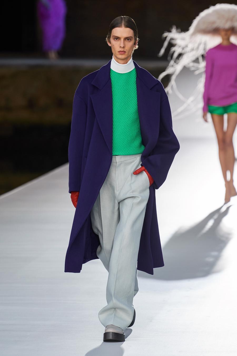 Valentino Couture Thu Đông 2021: cảm nhận những sắc màu - Ảnh 8