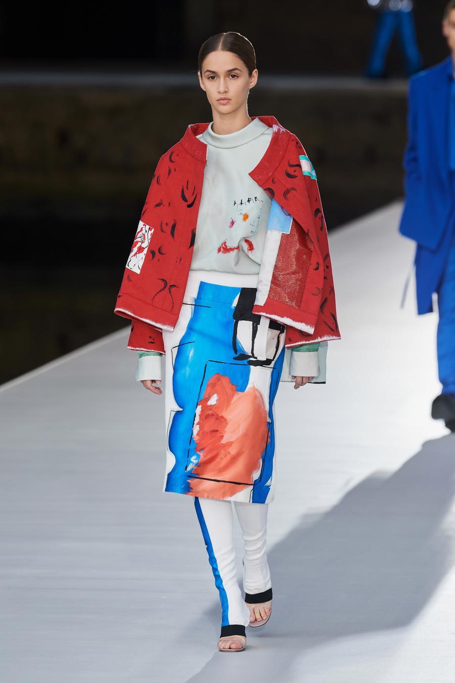 Valentino Couture Thu Đông 2021: cảm nhận những sắc màu - Ảnh 6