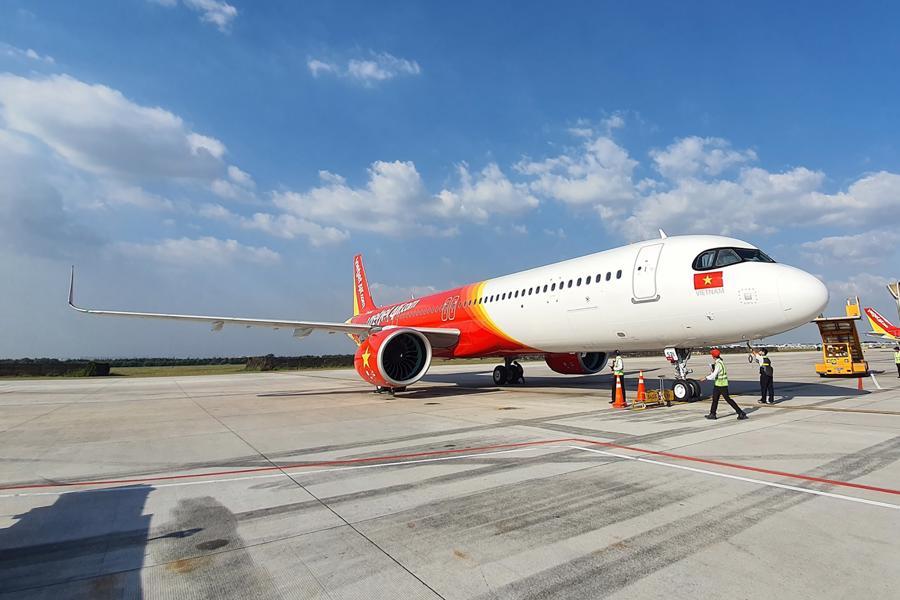 Vietjet là một trong những hãng hàng không đi đầu trong ứng dụng công nghệ vào tất cả các dịch vụ và công tác vận hành (ảnh: HT).